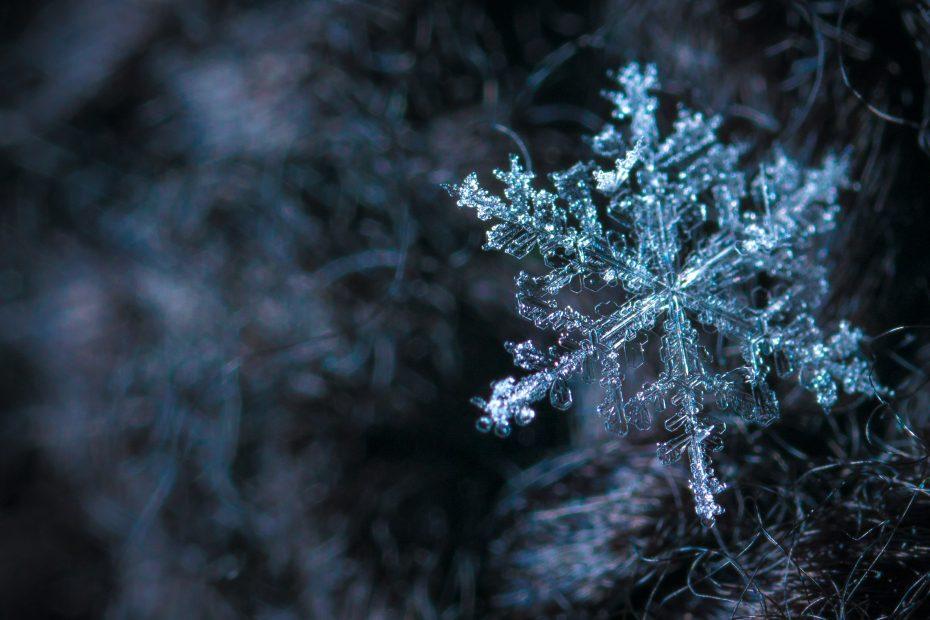 simmetria di un cristallo di neve