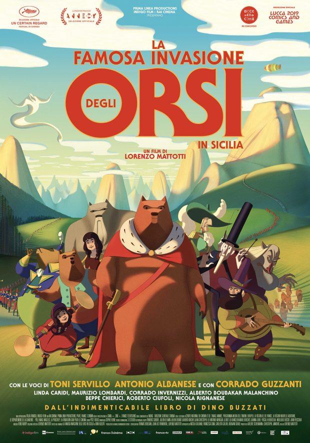 La famosa invasione degli Orsi in Sicilia - film di Lorenzo Mattotti